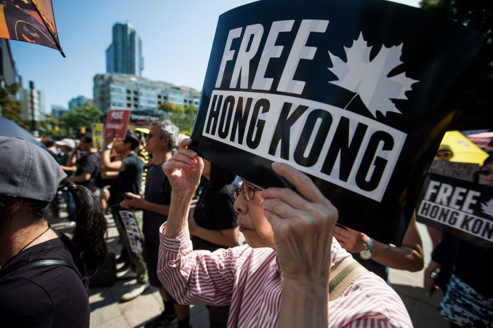 Canadian panel calls for 'targeted sanctions' on China