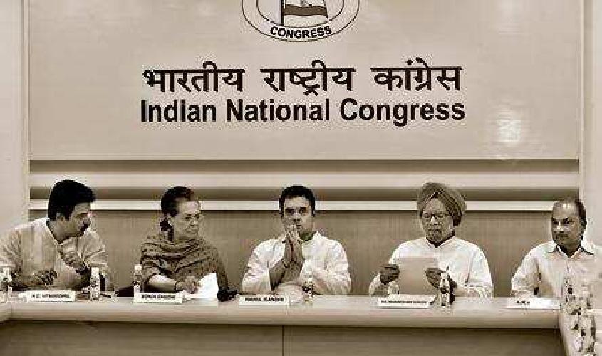 Why do Congress leaders do 'man ki baat' individually?